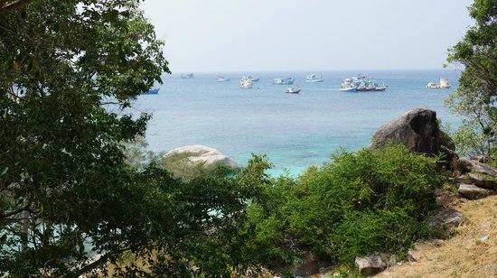 Seaview Resort and Restaurant: Вид на бухту