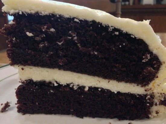 Axe Handle : Chocolate Egg Nog Cake
