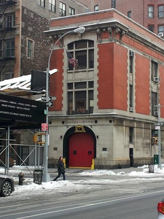 GhostBusters Firestation : A view of the firestation