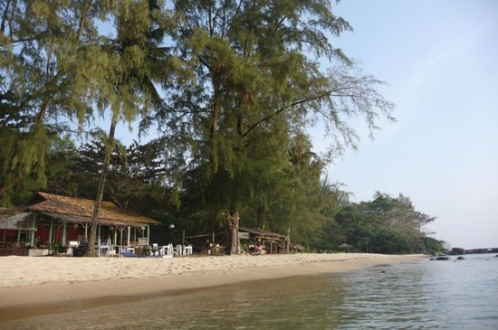 Bo Resort: Restaurant et Bar sur la plage