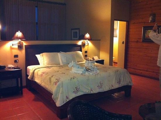 Arenal Kioro Suites & Spa: nice bed