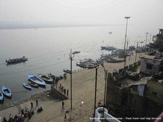 Kedareswar Bed & Breakfast: View from the rooftop terrace