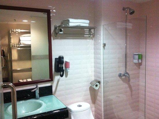 Nouvelle Hotel Johor: Modern bathroom.