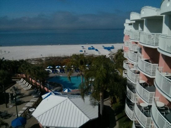 Beach House Suites by The Don CeSar: View from the 5th Floor