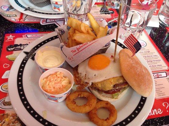 Memphis Coffee Montpellier: Kings burger