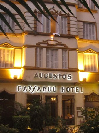 Augusto´s Paysandu Hotel : its characterful exterior