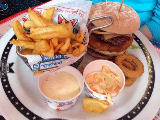 Memphis Coffee Montpellier: Mountain burger