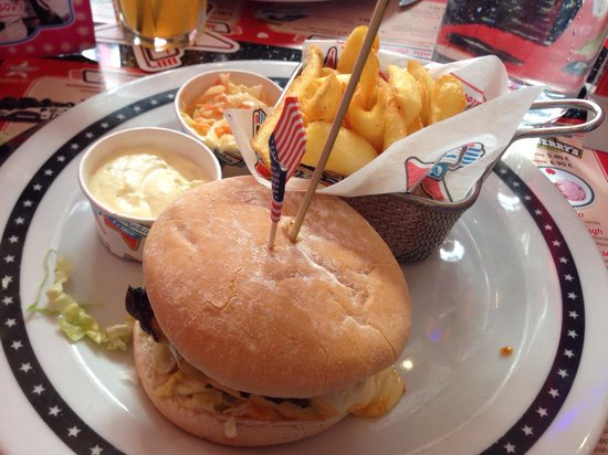 Memphis Coffee Montpellier : Cheese burger