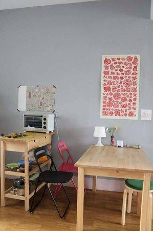 Chez Kiki : Wohnzimmer