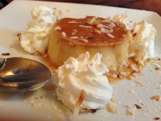 Silverwater Cafe: Coconut Flan