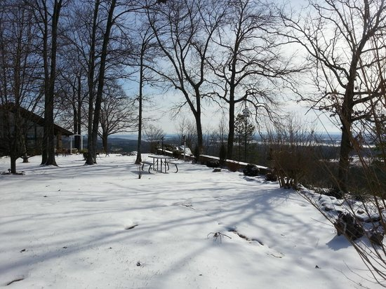 The Secret Bed and Breakfast Lodge : Off the back porch