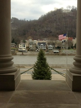 State Capitol: View across the Kanawha River