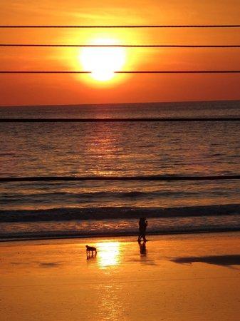 Jaco Beach : Sunset at Jaco