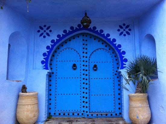 Dar Echchaouen: front entrance