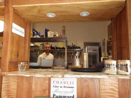 L'Atelier Gourmand Bistro: le chef