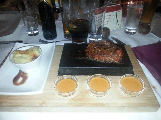 MemSaab : Steak Main Course