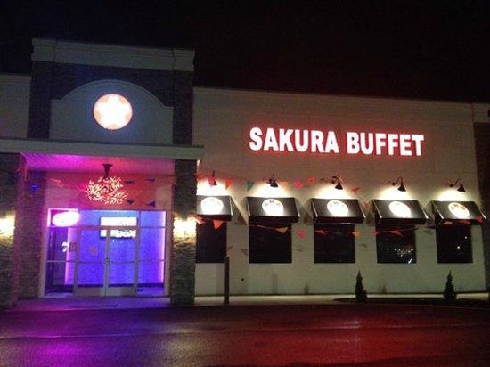 Sakura Buffet : Outside entrance