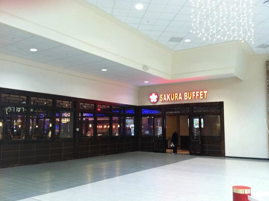 Sakura Buffet : Inside entrance