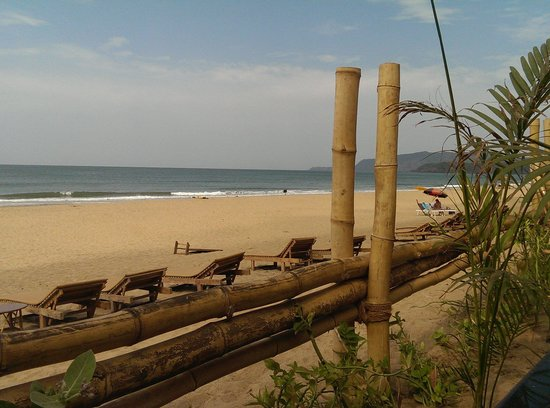Agonda Cottages: such a lovely beach!