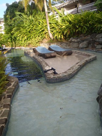 Rendezvous Resort: lazy river
