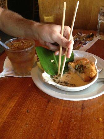 Buzz's Original Steak House: The Calamari I can't stop talking about