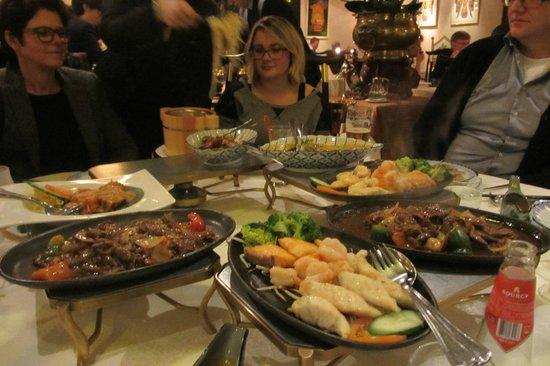 Oriental Swan: Heerlijk diner
