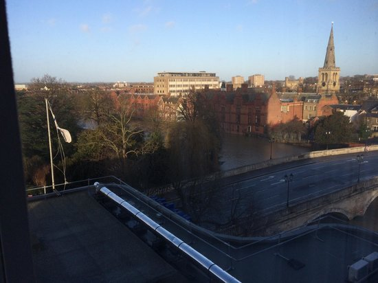Park Inn by Radisson Bedford: view from 412