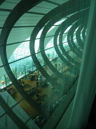 Dubai International Hotel: une fois les rideaux tirés, vue sur l'intérieur de l'aéroport