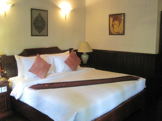 HanumanAlaya Boutique Residence: Whilst we were waiting for our own room to be prepared, we were given this room to relax in.