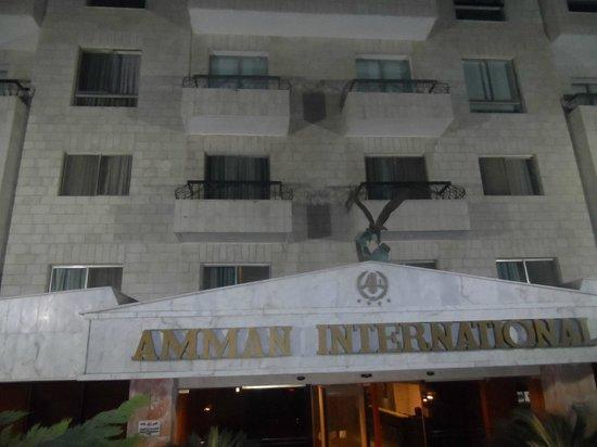 Amman International Hotel : Fachada do hotel