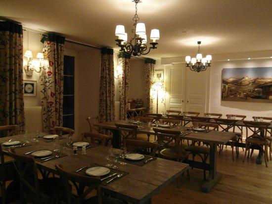 Hotel du Pillon: Dining room