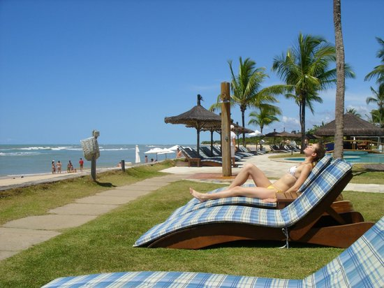 Arraial D'Ajuda Eco Resort: otimia praia