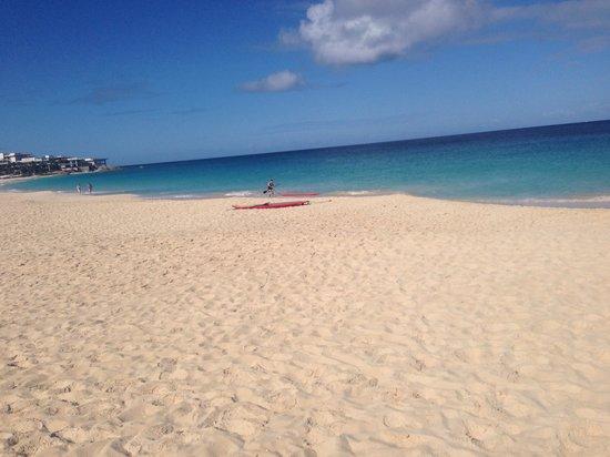 Frangipani Beach Resort: The beach !!!