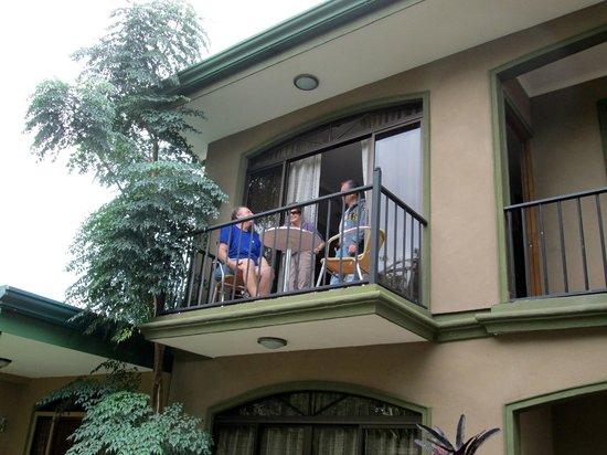 B&B Vista Los Volcanes: balcony