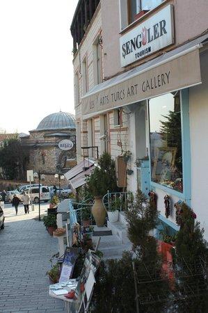 Turkish Marbling - Ebru Classes: Home of Les Arts Turcs II near the Main entrance of Topkapi palace