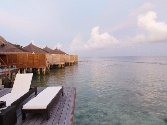 Kuramathi: Our villa's view