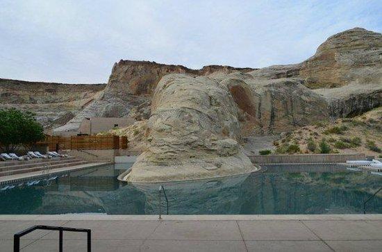 Amangiri: The pool