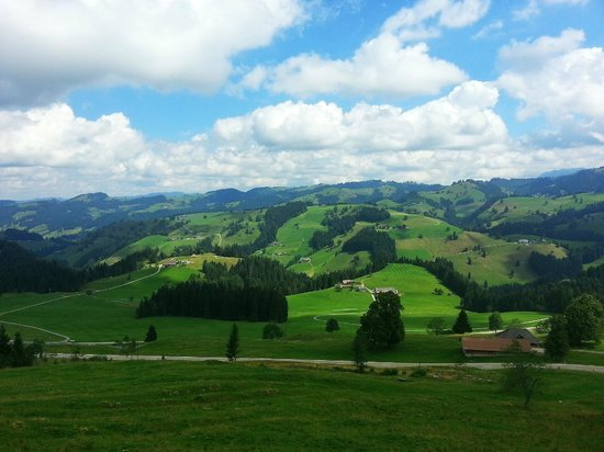 Ruderswil, Suiza: Umgebung/emmental mountains