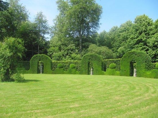Frederiksborg Slot Hillerod: парк