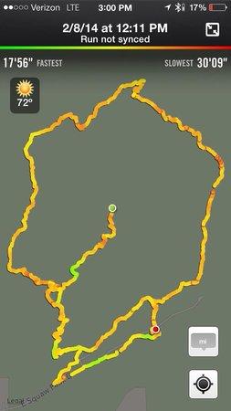 Piestewa Peak: Circumference trail 302