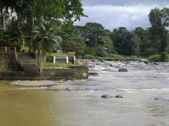 Hotel Elephant Bay: rivière