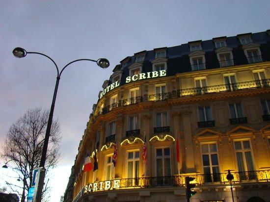Hôtel Scribe Paris Opéra by Sofitel: façade