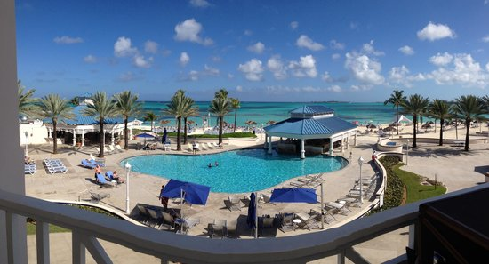 Melia Nassau Beach - All Inclusive: Beautiful. Who can complain about that view.