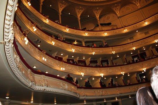 National Opera House of Ukraine: внутри театра