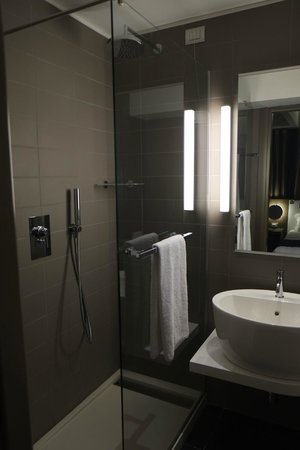 Mercure Rome Colosseum Centre : The bathroom - not big