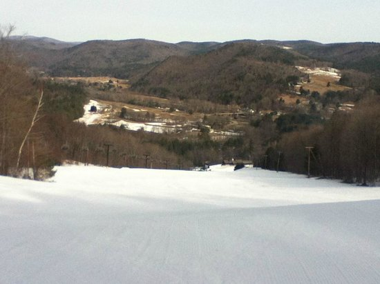 Berkshire East Ski Resort: Fresh corduroy and no crowds