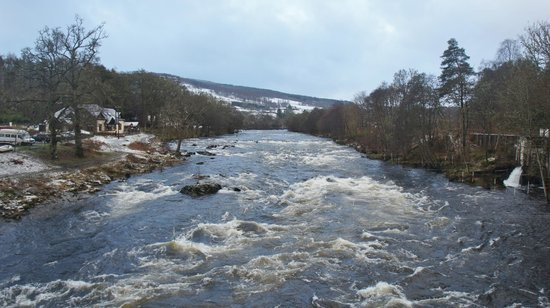 The Inn on the Tay: View from nearby bridge