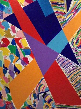 Hotel Sporting Brugherio : Arte nella hall