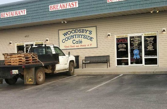 Woodsby's Countryside Cafe: Woodsby;s
