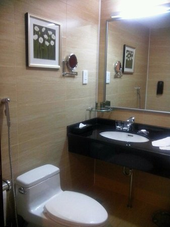 Miran International Hotel : toilet